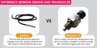 Difference between Sensor and Transducer?