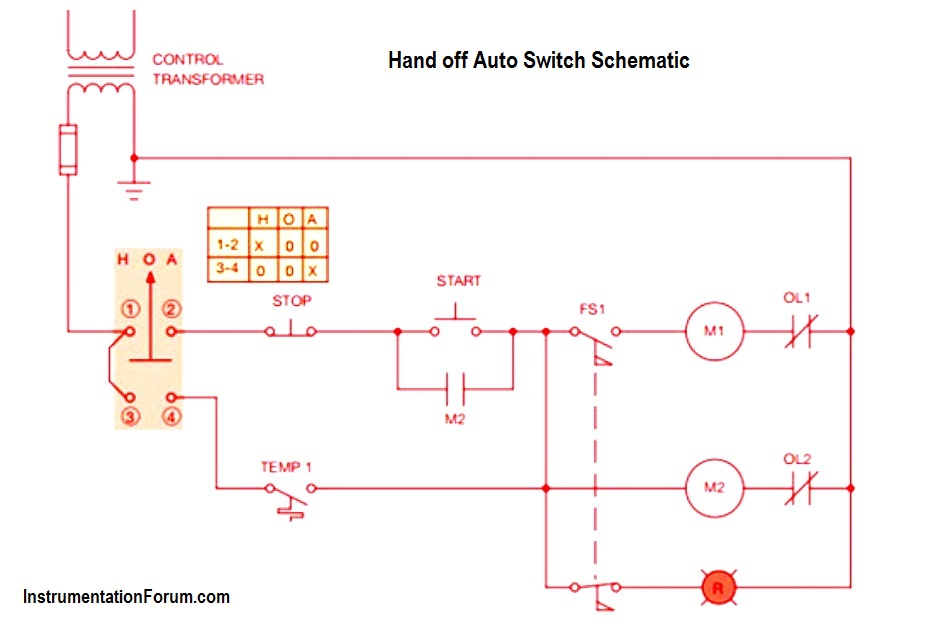 Automatic Motor Starter Circuit Diagram | WoodWorking on