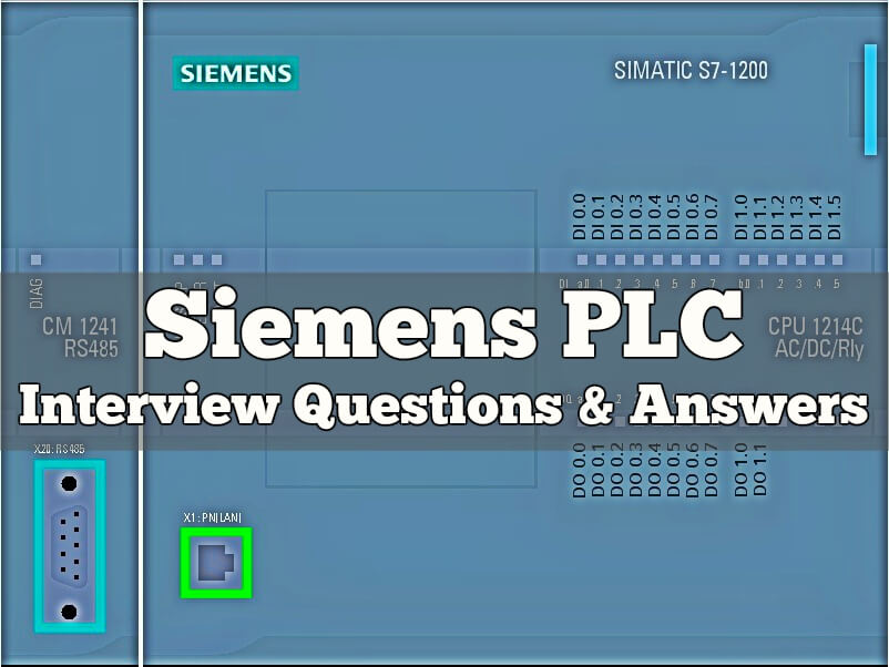 Siemens PLC Interview Questions & Answers Instrumentation