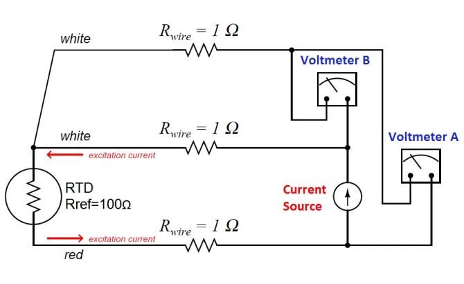 typical wiring diagram 3 wire rtd  schematic wiring diagram