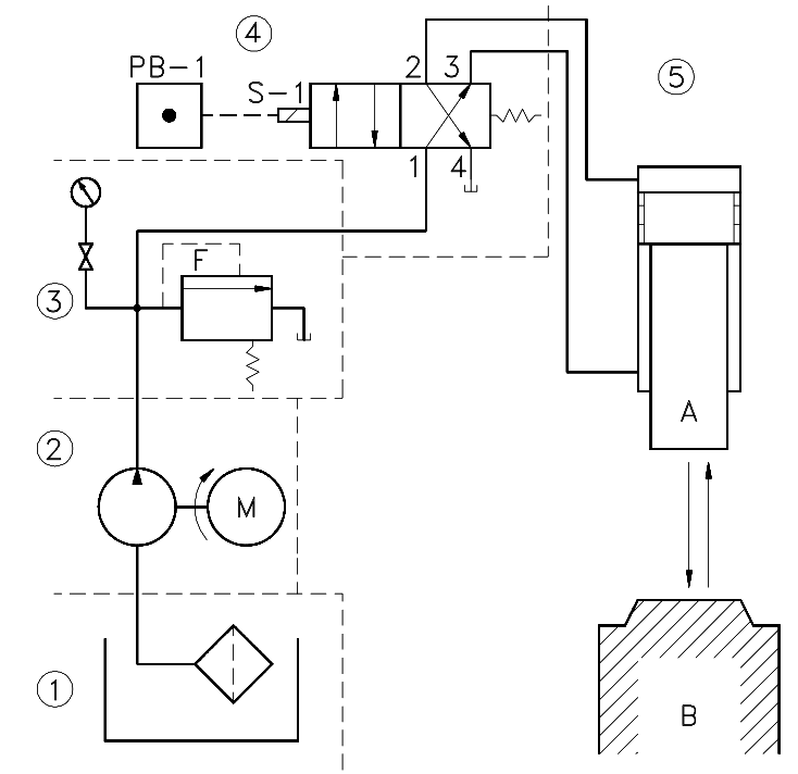 Hydraulic and Pneumatic P&ID Diagrams and Schematics