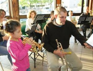 jouer d'un instrument de musique