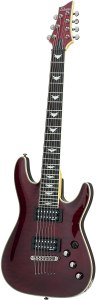 Schecter Omen Extreme-7 Electric Guitar (Black Cherry)