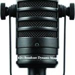 MXL Mics Dynamic Microphone, XLR Connector, Black, 6.20 x 2.00 x 2.00 inches (MXL BCD-1) 1