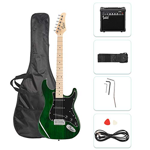 "GLARRY 39"" Full Size Electric Guitar for Music Lover Beginner"