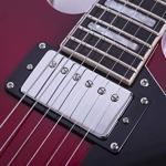 2019 New Product GROTE BRAND Semi Hollow Body Electric Guitar (Cherry red) 3