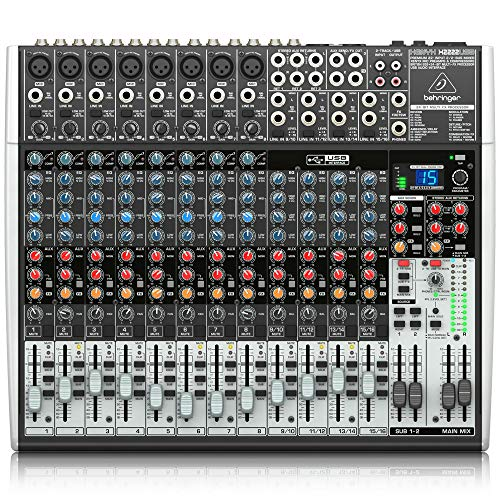 Behringer Xenyx Premium 22-Input 2/2-Bus Mixer with USB/Audio Interface