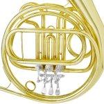 Mendini MFH-20 Single Key of F Brass French Horn 3