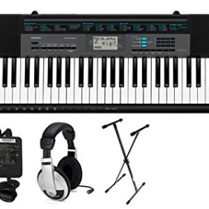 Casio 61-Key Premium Keyboard Pack with Stand, Headphones & Power Supply