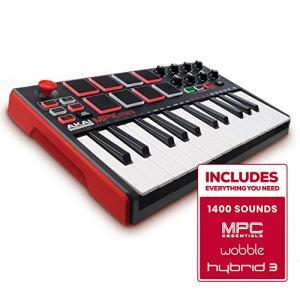 Akai Professional MPK Mini MKII | 25 Key Portable USB MIDI Keyboard