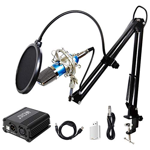 TONOR Pro Condenser Microphone XLR to 3.5mm Podcasting Studio Recording