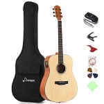 Donner Electric Acoustic Guitar Package Full-size