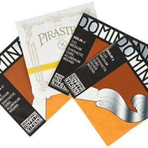 JSI Special 4/4 Violin String Set: Gold Label Ball-End E & Dominant