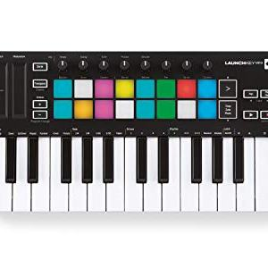 Novation Launchkey Mini 25-Mini-Key MIDI Keyboard