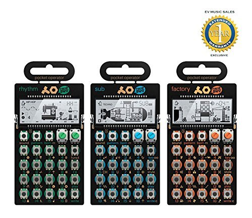 Teenage Engineering Rhythm, PO-14 Sub & PO-16 Factory Package