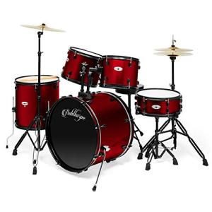Ashthorpe 5-Piece Complete Full Size Adult Drum Set