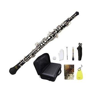 ammoon Oboe C Key Woodwind Musical Instrument