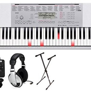 Casio Lighted Key Premium Keyboard Pack with Headphones