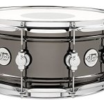 DW Design Series Black Nickel over Brass Snare Drum 14×6.5 Inch