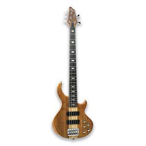 5 String Electric Bass Guitar Millettia Laurentii+Okoume body