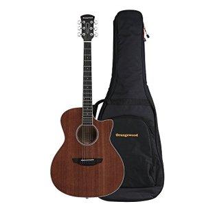 Orangewood Rey Grand Auditorium Cutaway Acoustic Guitar