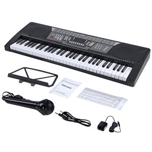 ADM 61 Key Electronic Keyboard Piano Beginner SuperKit