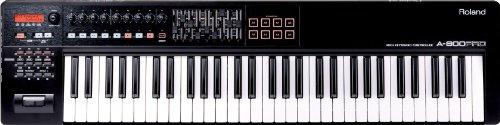 Roland 61-key MIDI Keyboard Controller, black