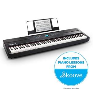 Alesis Recital Pro | Digital Piano / Keyboard with 88 Hammer Action Keys