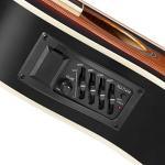 Ashthorpe Full-Size Cutaway Thinline Acoustic-Electric Guitar Package – Premium Tonewoods – Sunburst 2