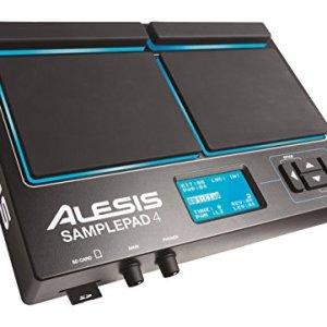 Alesis Sample Pad 4 | Compact 4-Pad Percussion and Sample Triggering Instrument