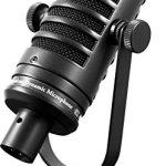 MXL Mics Dynamic Microphone, XLR Connector, Black, 6.20 x 2.00 x 2.00 inches (MXL BCD-1)