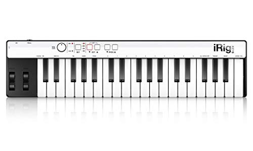 IK Multimedia iRig Keys Mini-sized 37-key MIDI Controller