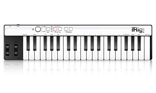 IK Multimedia iRig Keys Mini-sized 37-key MIDI Controller for iPhone