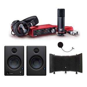 Focusrite Scarlett 2i2 USB Audio Recording Interface Studio Pack