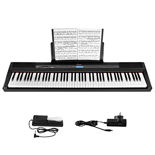 Donner Beginner Digital 88 Key Full Size Weighted Keyboard