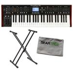 Behringer DeepMind 12 Analog Synthesizer w/Polish Cloth and Stand