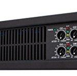 QSC CX168 Power Amplifier 130 Watts 8 channel at 4 Ohms 3-Pin Detachable-Blocks Variable-Speed-Fan 2