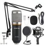 ZINGYOU Condenser Microphone Bundle, BM-800 Mic Kit