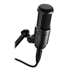 Audio-Technica Cardioid Condenser Studio Microphone