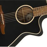 Fender Newporter Special – California Series Acoustic Guitar – Matte Black Finish with Gig Bag 3