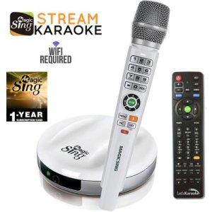 2018 Wireless MagicSing E2 ?? Home Karaoke ?? Stream 10,000+ English Songs ??