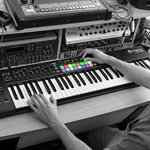 Novation Launchkey 61 USB Keyboard Controller for Ableton Live, 61-Note MK2 Version 3