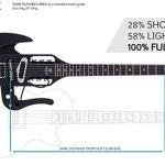 Traveler Guitar 6 String Pro-Series Mod-X (Matte Black), Right, (PSM BKM) 2