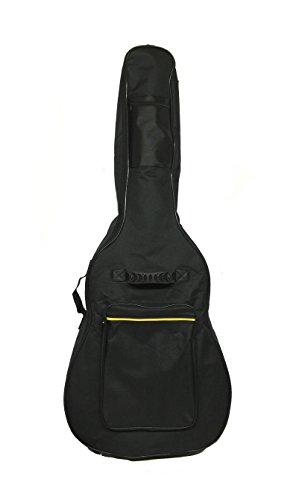 Tetra-Teknica TourPro Series TGB-01 41 Inch Foam Padded 600D Nylon Guitar Gig Bag with Zippers