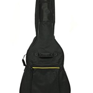 Tetra-Teknica TourPro Series TGB-01 41 Inch Foam Padded 600D Nylon Guitar Gig Bag with Zippers