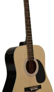 Acoustic Guitar Dreadnaught Steel String with 1 String Winder