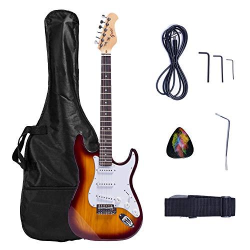 Grote Electric Guitar Classic Custom Chrome Hardware Gigbag (VS)