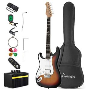 Solid Body 39 Inch Left Handed Full-Size Electric Guitar Kit