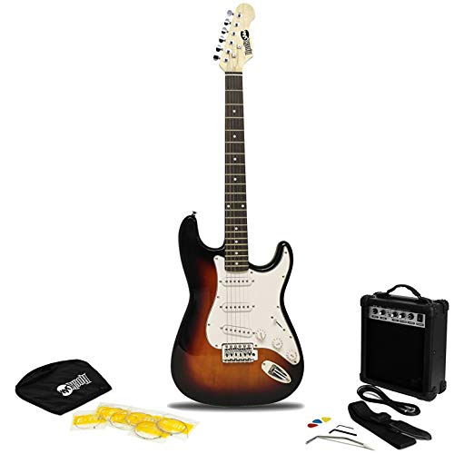 Full Sie Electric Amp, Strings, Bag, Plectrums, Guitar Strap & Whammy Bar