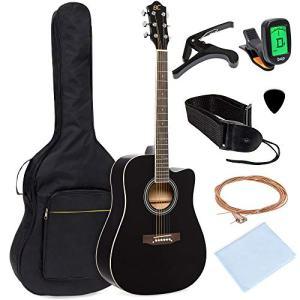 Full Size Beginner Acoustic Cutaway Guitar Set